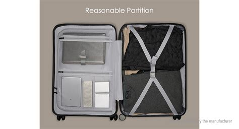 Xiaomi Mi Trolley 90 Points Suitcase 20inch White 52 18 authentic xiaomi mi trolley 90 points suitcase 20 quot 36l large capacity telescoping