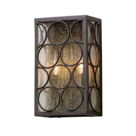Troy lighting copley square 2 light historic brass outdoor wall oregonuforeview