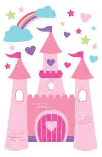 fairy princess castle clipart clipart kid disney princess castle with princesses peel stick mural