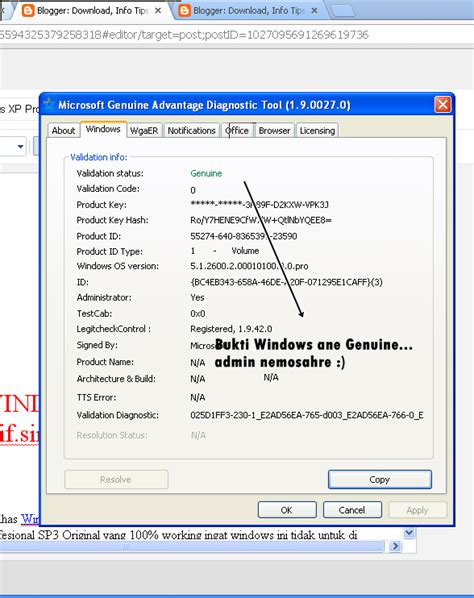 membuat windows xp sp3 jadi genuine windows xp professional sp3 genuine asli download