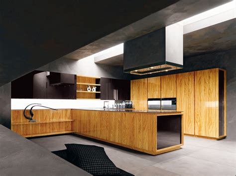 Kitchen Wood Furniture Modern Kitchen With Luxury Wooden And Marble Finishes