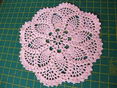 Lu Belajar Stitch hari hari ku pineapple doily crochet