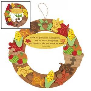 religious thanksgiving crafts for christian thanksgiving wreath craft idea for jr