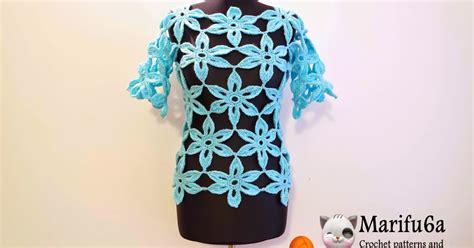 flower jumper pattern free crochet patterns and video tutorials how to crochet
