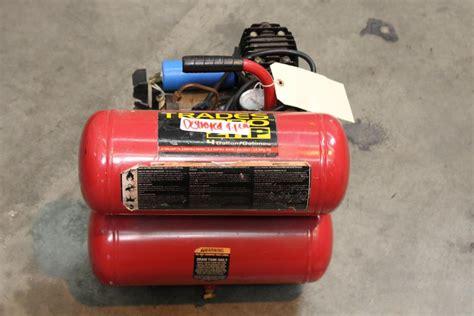 trades pro  air compressor property room