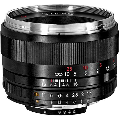 carl zeiss lens zeiss planar t 50mm f 1 4 zf 2 lens for nikon f mount