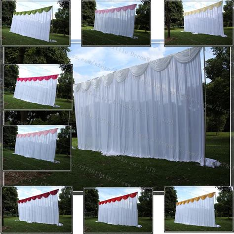curtain backdrops for weddings online buy wholesale wedding backdrop curtains from china