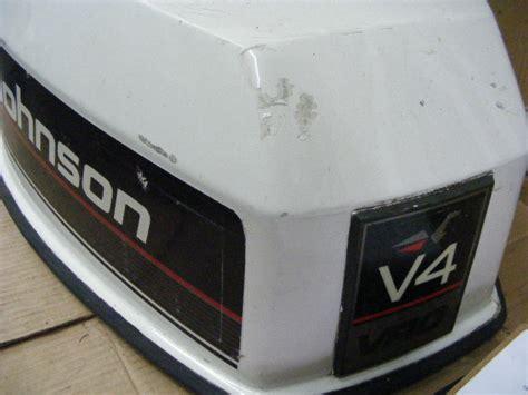 boat motor vro johnson evinrude 90 hp v4 vro engine cover motor outboard