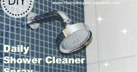 Make Your Own Daily Shower Cleaner by Make Your Own Daily Shower Cleaner Spray Hometalk