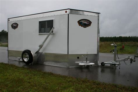 Fish House Trailer Plans Numberedtype Fish House Trailer Plans