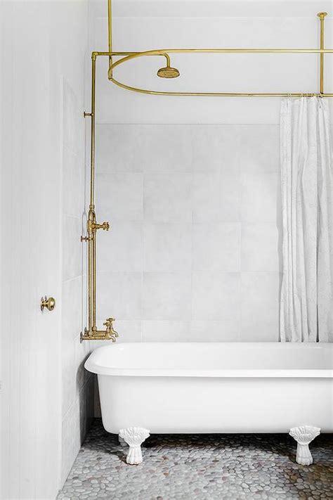 Ideas For Oval Shower Curtain Rod Design Oval Shower Rod Design Ideas