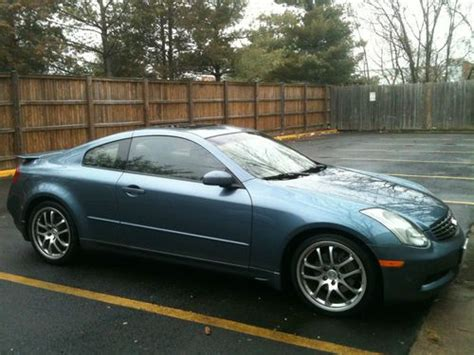 how to sell used cars 2005 infiniti g parking system find used 2005 infiniti g35 coupe 6spd in alexandria virginia united states for us 16 500 00