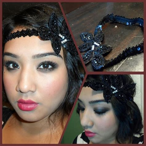 diy 1920s flapper hairstyles 1920 s flapper tutorial diy vintage inspired headband