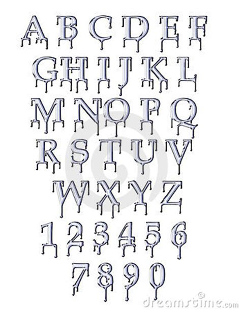 dafont dripping font water drip font