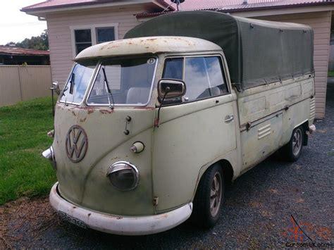 vw ute volkswagen vw 1962 ute single cab kombi