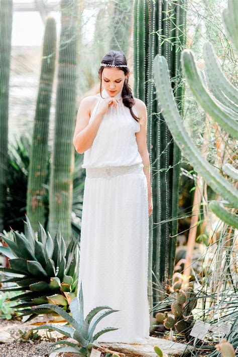 Bohemian Brautkleid by Bohemian Hochzeitskleider Im Botanischen Garten