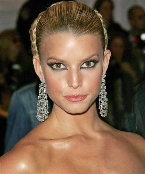 front views of prom hair styles jessica simpson updo long straight formal wedding updo