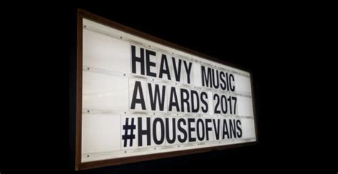 heavy house music heavy music awards 2017 house of vans london 24th august 2017 the moshville