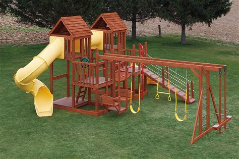 vinyl swing sets pa swing sets playsets weaver s stove and patio