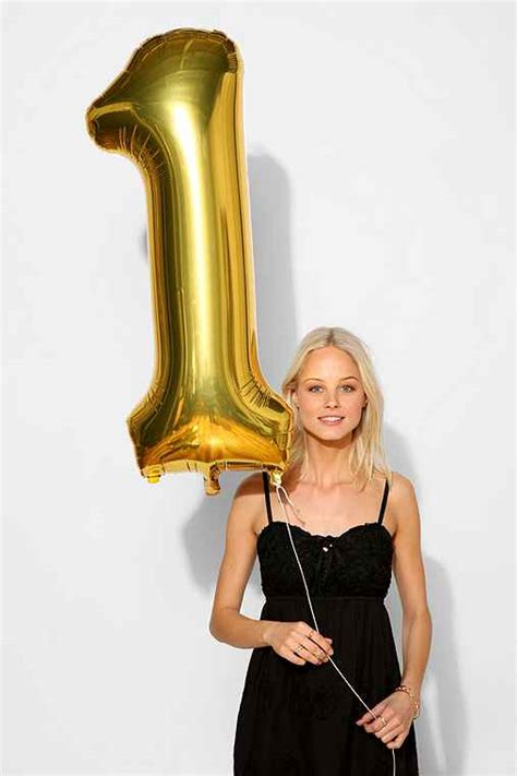 Urban Outfitters Gift Card Number - gold number party balloon urban outfitters
