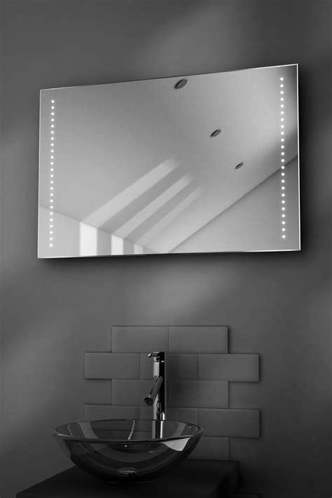 illuminated demister bathroom mirrors bella ultra slim led bathroom illuminated mirror with