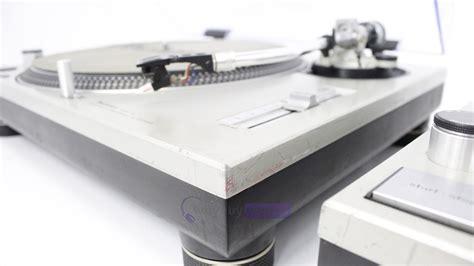 Sl1200 Turntable Dj pair technics sl1200 mk2 turntables whybuynew