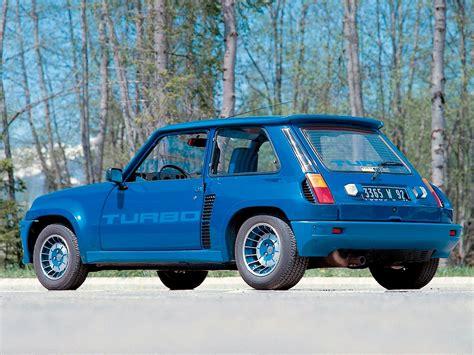 renault 5 turbo specs 1980 1981 1982 1983 1984