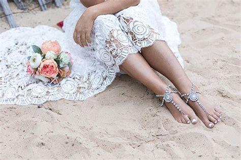 wedding sandals for bridesmaids 30 barefoot wedding sandals for brides bridesmaids