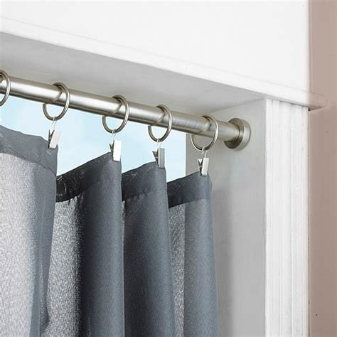 rod curtain window treatment with tension rod curtain homesfeed