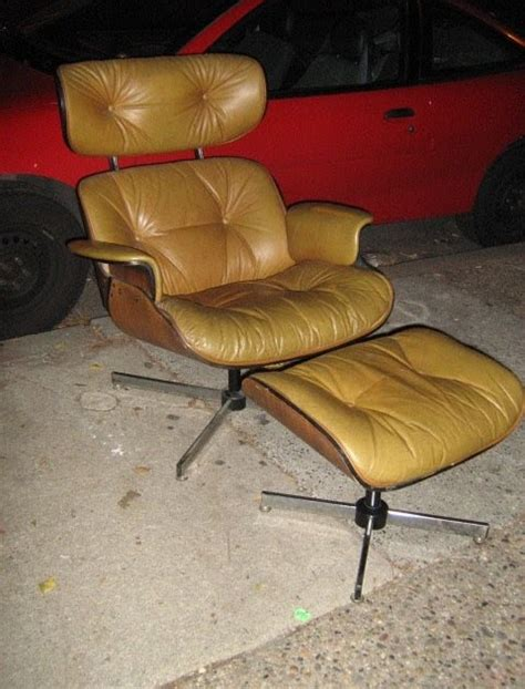 knock eames lounge chair uhuru furniture collectibles leather eames knock