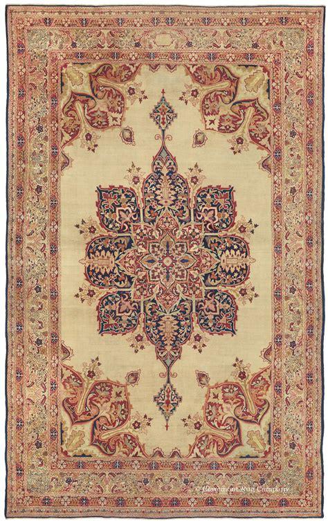 10 X 14 Neurtral Rug - laver kirman southeast antique rug claremont