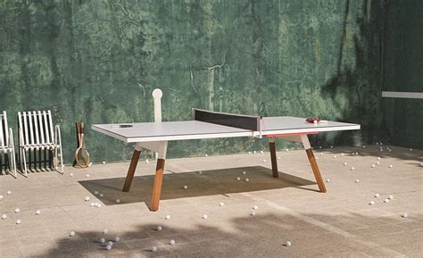 your new desk just happens to be a gorgeous ping pong