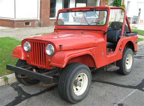 jeep cj file jeep cj 5 v6 red open body jpg wikipedia
