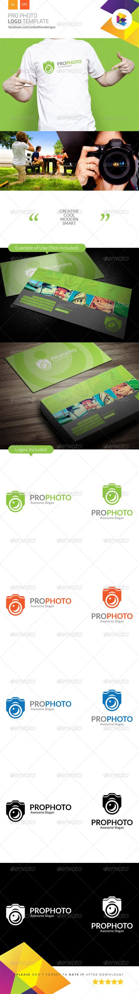 pro photo templates pro photo logo template by cooleditionlogos graphicriver
