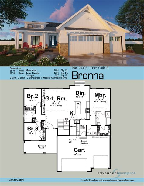 Advanced House Plans by Modern Cottage House Plan Brenna Advanced House Plans