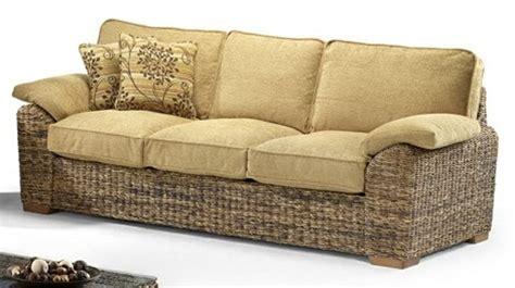 Banana Leaf Large Sofa Brown Conservatory Furniture