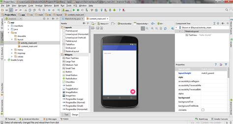 membuat navigation drawer di android studio cara membuat project android pada android studio