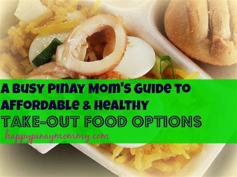 busy moms guide  healthy   food options
