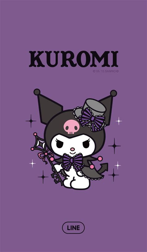 theme line kuromi cm hacked update new line theme shop 03 11 2015 kuromi