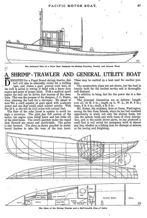 j foster boats shrimp trawler designed by j l foster of orcas