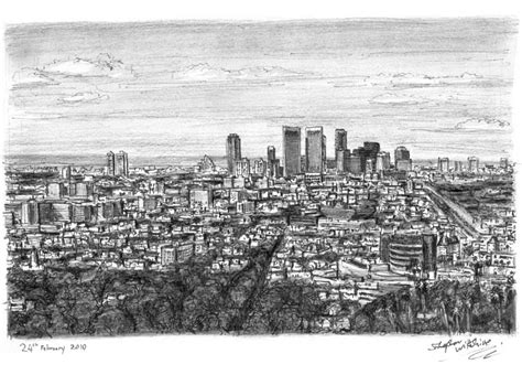 drawings  century city los angeles city art
