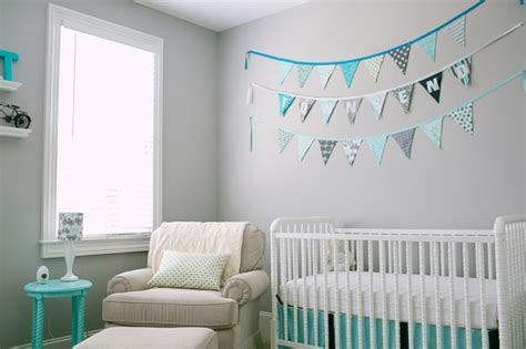 cool aqua design for nursery kidsomania