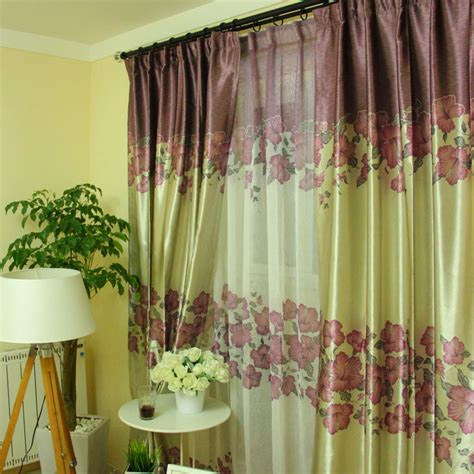 Purple And Green Valance purple and green curtains home design architecture cilif