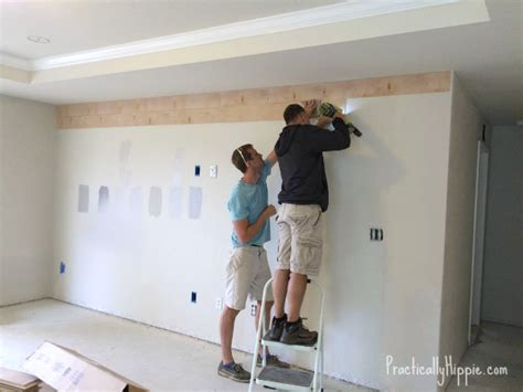 How To Get The Look Of Shiplap Diy Shiplap Wall Ceiling Practically Hippie