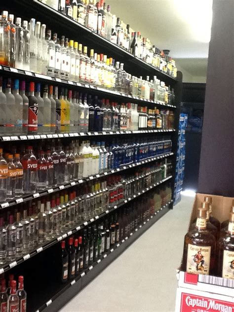 handy store fixtures black gondola shelves for liquor