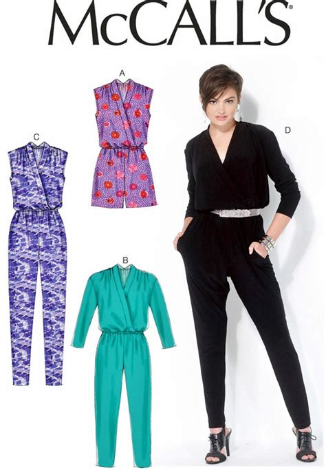 jumpsuit knitting pattern ladies jumpsuit pattern loose fit romper pattern stretch