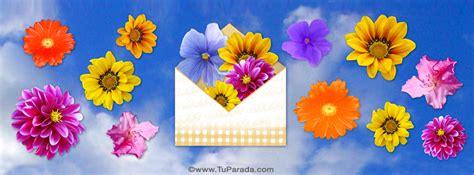 imagenes de flores interactivas imagen de foto de cielo y flores para portada de facebook