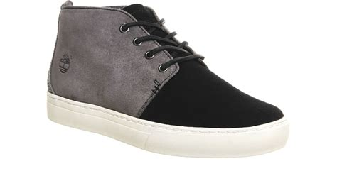 mens black suede timberland boots timberland 2 0 cupsole suede chukka boots in black for
