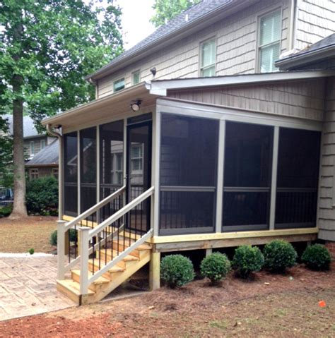 shed roof screened porch st louis mo screen porch roofing options by archadeck