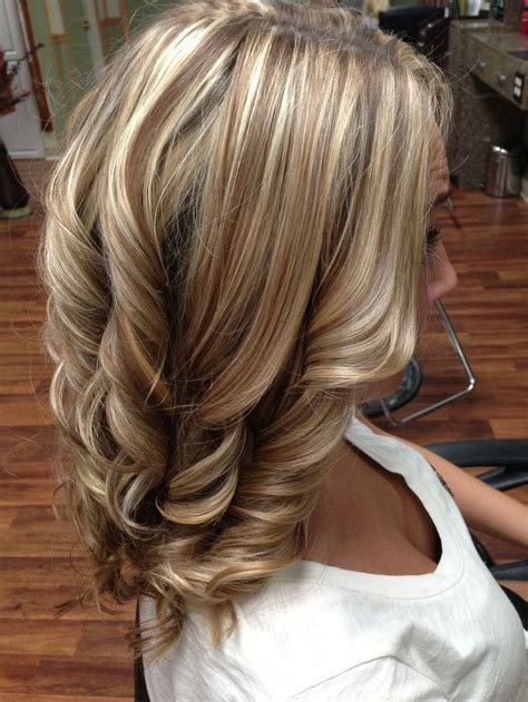 blonde different colours different hair colors and highlights short hairstyle 2013